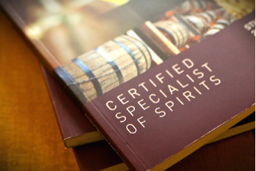 Certified Specialist of Spirits from Spirits Education Institute