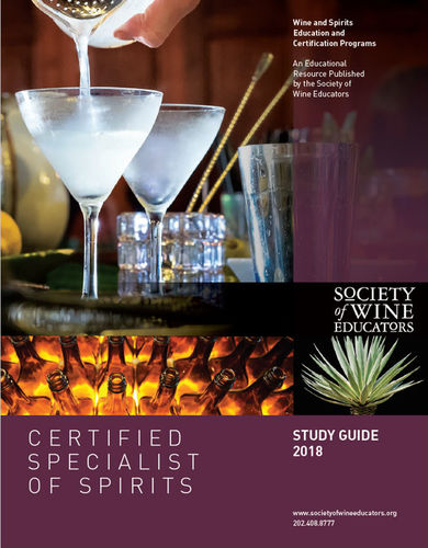SWE Certified Specialist of Spirits